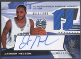 2004/05 SPx #124 Jameer Nelson Rookie Jersey Auto /1999