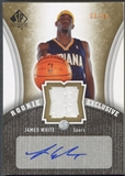 2006/07 SP Authentic #JW James White Rookie Exclusives Jersey Auto #08/60