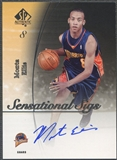 2005/06 SP Authentic #ME Monta Ellis Sensational Sigs Rookie Auto