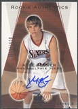2003/04 SP Authentic #187 Kyle Korver Rookie Auto #0197/1250