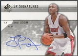 2003/04 SP Authentic #LOA Lamar Odom SP Signatures Auto