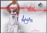 2008/09 SP Authentic #VSAH Al Horford Vital Signs Auto