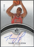 2006/07 SP Authentic #101 Thabo Sefolosha Rookie Auto #787/999
