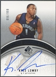 2006/07 SP Authentic #114 Kyle Lowry Rookie Auto /999