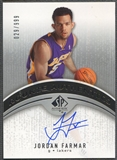 2006/07 SP Authentic #116 Jordan Farmar Rookie Auto #029/999