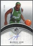 2006/07 SP Authentic #118 Maurice Ager Rookie Auto #152/999