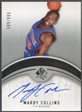 2006/07 SP Authentic #119 Mardy Collins Rookie Auto /999