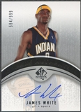 2006/07 SP Authentic #120 James White Rookie Auto #584/999