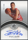 2006/07 SP Authentic #121 Steve Novak Rookie Auto #797/999