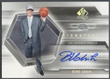 2004/05 SP Authentic #BU Beno Udrih Signatures Rookie Auto