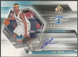 2004/05 SP Authentic #JR J.R. Smith Signatures Rookie Auto