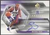 2004/05 SP Authentic #MR Michael Redd Signatures Auto