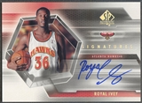 2004/05 SP Authentic #RI Royal Ivey Signatures Rookie Auto