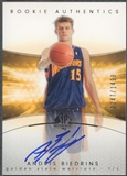 2004/05 SP Authentic #177 Andris Biedrins Rookie Auto /1499
