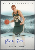 2004/05 SP Authentic #176 Robert Swift Rookie Auto /1499