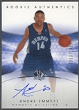 2004/05 SP Authentic #153 Andre Emmett Rookie Auto /1499
