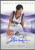 2004/05 SP Authentic #142 Yuta Tabuse Rookie Auto /1499