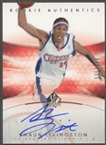 2004/05 SP Authentic #184 Shaun Livingston Rookie Auto /999