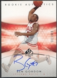 2004/05 SP Authentic #185 Ben Gordon Rookie Auto /999