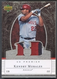 2007 Upper Deck #KM Kendry Morales Premier Patches Dual Patch #29/75