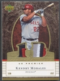 2007 Upper Deck #KM Kendry Morales Premier Patches Gold Dual Patch #28/49