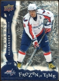 2008/09 Upper Deck Trilogy Frozen in Time #102 Alexander Ovechkin /799