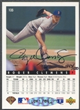 2000 SP Authentic Roger Clemens Buybacks Auto #443/500