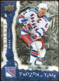 2008/09 Upper Deck Trilogy Frozen in Time #106 Mark Messier /799