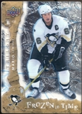2008/09 Upper Deck Trilogy Frozen in Time #115 Mario Lemieux /799