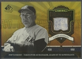 2006 SP Legendary Cuts #CS Casey Stengel Chronology Materials Yanks Jersey