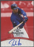 1997 Donruss Signature #66 Derrek Lee Auto