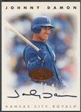 1996 Leaf Signature #54 Johnny Damon Auto