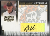 2005 Prime Patches #25 Craig Wilson Major League Materials Auto