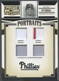 2005 Prime Patches #51 Pat Burrell Portraits Quad Swatch Jersey #088/150