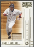 2005 Prime Patches #17 Manny Ramirez Materials Bat #082/150
