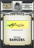 2005 Prime Patches #3 Laynce Nix Portraits Auto
