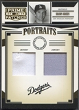 2005 Prime Patches #13 Shawn Green Portraits Double Swatch Jersey #017/150