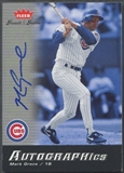 2006 Greats of the Game #MG Mark Grace Auto