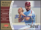 "2006 Greats of the Game #BE Steve Bedrosian Nickname Greats Auto ""Bedrock"""