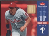 2006 Greats of the Game #JK John Kruk Decade Greats Memorabilia Bat
