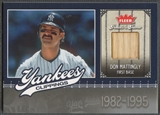 2006 Greats of the Game #DM Don Mattingly Yankee Clippings Memorabilia Bat