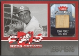 2006 Greats of the Game #TP Tony Perez Reds Greats Memorabilia Bat