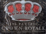 1996 Pacific Crown Royale Football Hobby Box