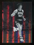 2012/13 Upper Deck Fleer Retro 96-97 Flair Legacy Row 1 #96FL29 Bill Laimbeer /150