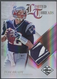 2012 Limited #29 Tom Brady Threads Brand Reebok Logo #1/1