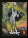 2012/13 Upper Deck Fleer Retro 97-98 Z-Force Super Rave #Z2 Dennis Rodman /50
