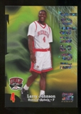 2012/13 Upper Deck Fleer Retro 97-98 Z-Force Super Rave #Z9 Larry Johnson /50