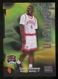 2012/13 Upper Deck Fleer Retro 97-98 Z-Force Rave #Z9 Larry Johnson /399