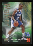 2012/13 Upper Deck Fleer Retro 97-98 Z-Force Rave #Z17 Antoine Walker /399