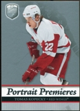 2006/07 Upper Deck Be A Player Portraits #106 Tomas Kopecky